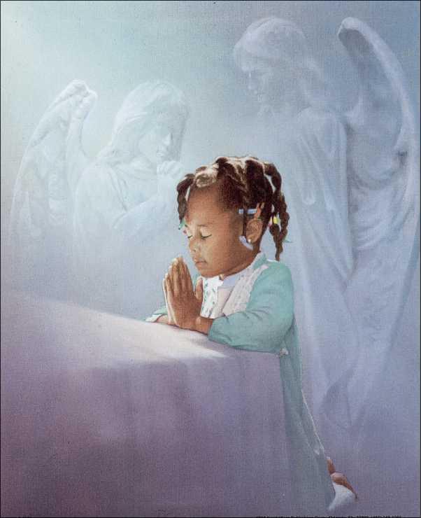 baby black angel images