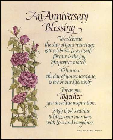 christian wedding anniversary card messages